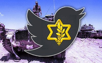 The IDF is blowing people away with its social media game. (Photo by Quique Kierszenbaum/Getty Images; photo illustration by JTA staff)