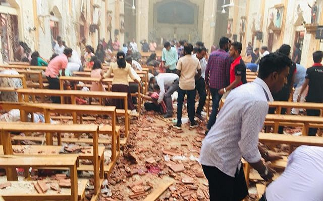 Image result for sri lanka easter attack