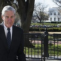 Special Counsel Robert Mueller walks past the White House on March 24, 2019, after attending St. John's Episcopal Church for morning services, in Washington. (AP/Cliff Owen)
