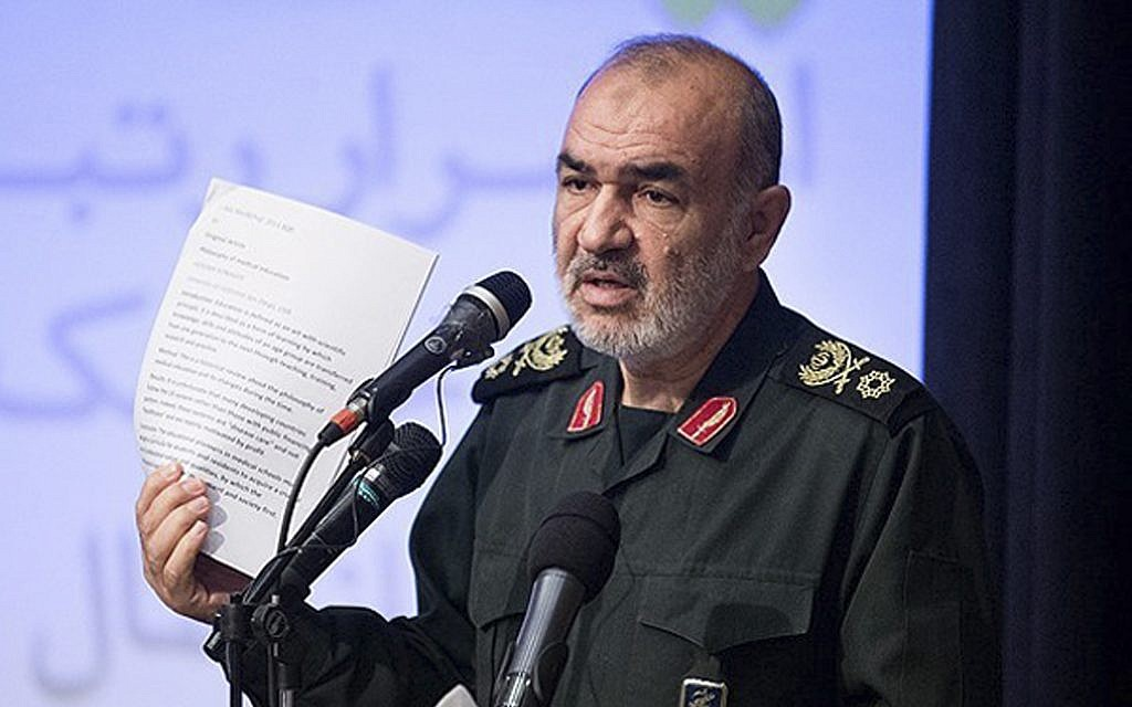Iran on the brink of 'full-scale confrontation with the enemy,' IRGC chief warns