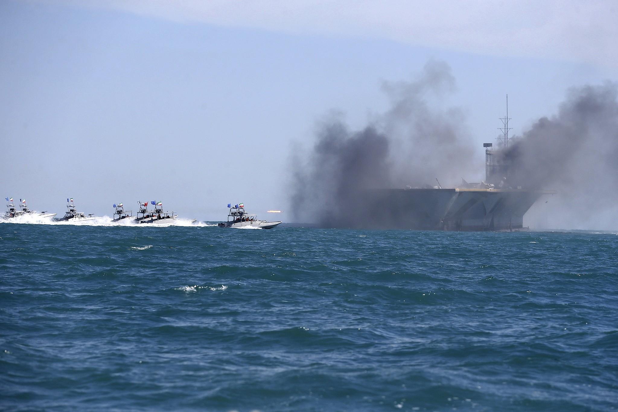 Iran threatens to close Strait of Hormuz after US ends sanction