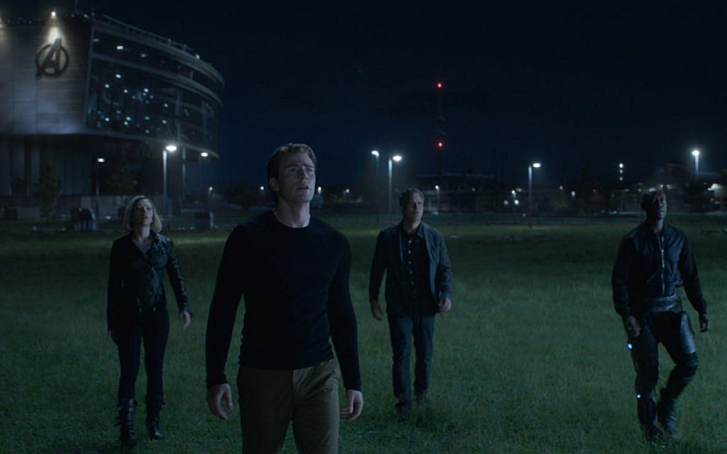 The remaining Avengers assemble in 'Avengers: Endgame.' (Courtesy Marvel Studios)