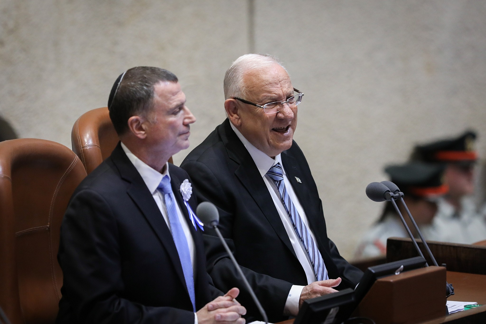Opening Knesset after bitter election, Rivlin tells MKs to