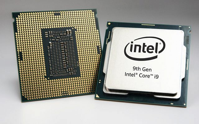 Intel Corp.'s 9th Gen Core, sired by its Haifa team, was launched by the US tech giant on April 23, 2019 (Courtesy)