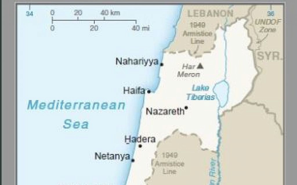 US publishes first map showing Golan as Israeli territory