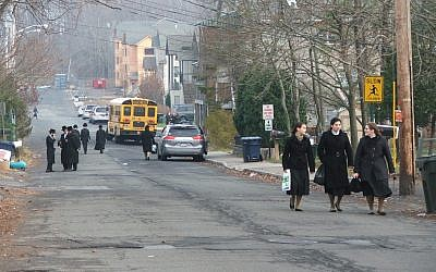 Measles cases have been clustered in parts of Rockland County, NY, that include New Square, an all-Hasidic village. (Uriel Heilman)