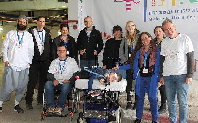 Tech teams at Alyn Hospital hack big health ideas for small