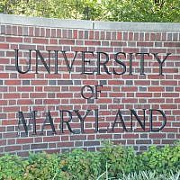 The University of Maryland (Wikimedia Commons via JTA)