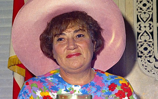 US Rep. Bella Abzug (D-N.Y.) in 1971, wearing one of her trademark hats. (AP Photo)