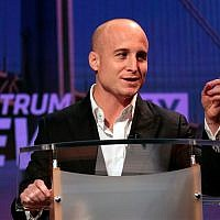 Democratic challenger for the 11th Congressional District seat Max Rose debates in New York, October 16, 2018. (Bill Lyons/Staten Island Advance via AP, Pool)