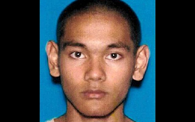 This undated California Department of Motor Vehicles photo released by the US Department of Justice shows Mark Domingo, an army veteran who converted to Islam and allegedly planned to bomb a white supremacist rally in Southern California as retribution for the New Zealand mosque attacks in March. (US Department of Justice via AP)