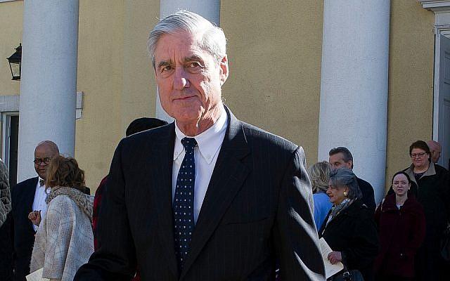 Special Counsel Robert Mueller in Washington, March 24, 2019. (AP Photo/Cliff Owen)