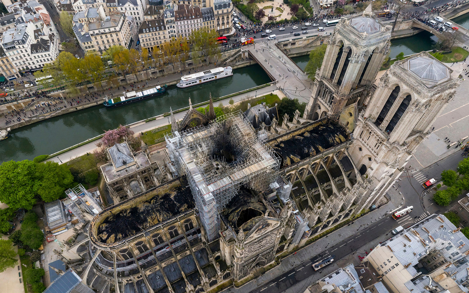 Notre Dame Rector Says 50 Chance Cathedral Cannot Be Salvaged The Times Of Israel