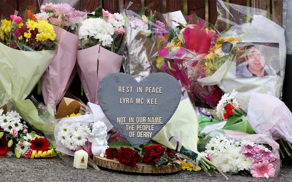 e35174b91b7 Journalist shot dead in Northern Ireland  terrorist incident