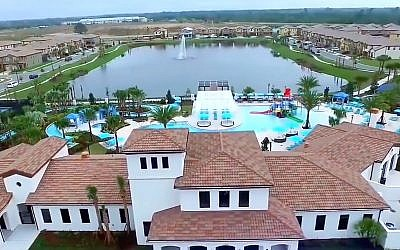 'A Different Pesach' promised guests a private villa, kosher food and other amenities (YouTube screenshot)