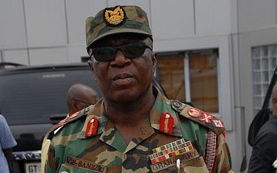 Major General Francis Vib-Sanziri of Ghana, Head of the UNDOF peacekeeping force in the Golan Heights, who died April 19, 2019 (Courtesy/UN)