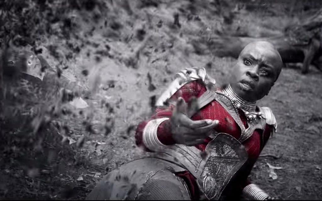 Danai Gurira as Okoye in 'Avengers: Endgame.' (Courtesy Marvel Studios)