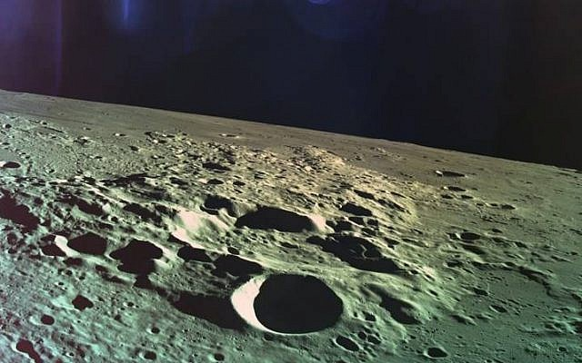 The Israeli moon lander crashed - but it shared this selfie first