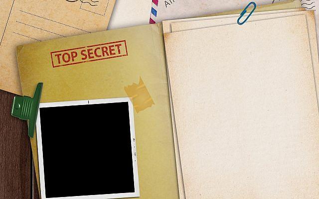 Illustrative - top secret file open on a desk (Getty Images)