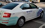 Illustrative - Belgium police car in Antwerp city center. (Getty Images)