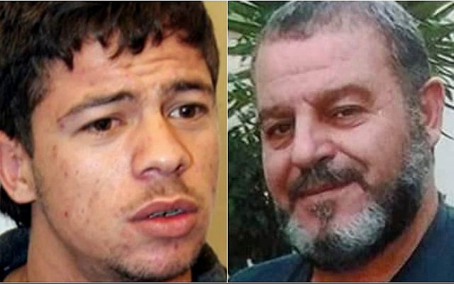 Fatah operative Hamis Ahmad (L) and drug smuggler Zidan Tweil, two Syrians set to be freed by Israel (Courtesy)