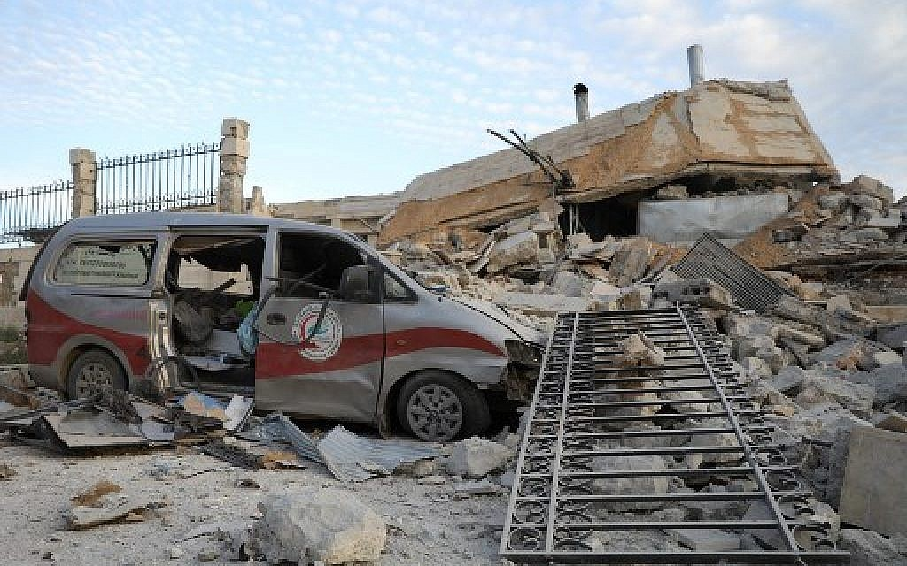 Russia denies report it bombed four Syria hospitals