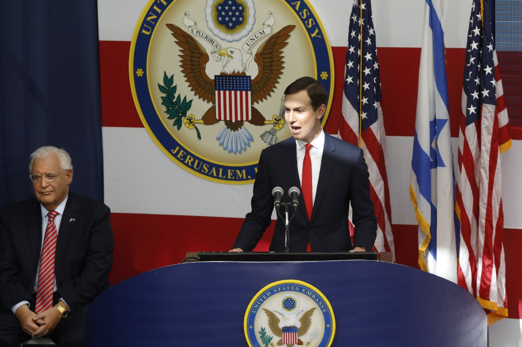 Jared Kushner unveils peace plan to inject $50B into Middle East