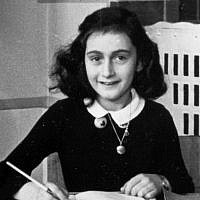Anne Frank (Wikimedia Commons)