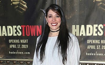 "Director Rachel Chavkin attends the ""Hadestown"" opening night at the Walter Kerr Theatre in New York City, April 17, 2019. (Jim Spellman/Getty Images)"