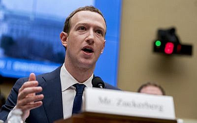In this file photo from April 11, 2018, Facebook CEO Mark Zuckerberg testifies before a House Energy and Commerce hearing on Capitol Hill in Washington. (AP Photo/Andrew Harnik, File)
