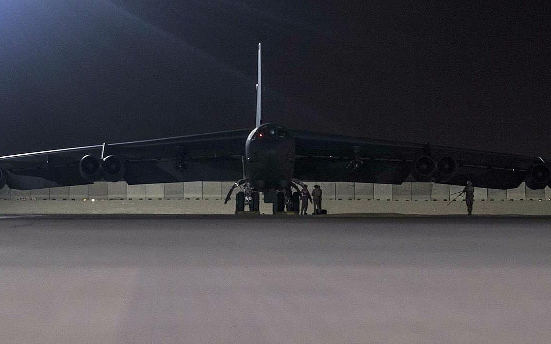 US B-52 bombers land in Qatar over unspecified Iran threats