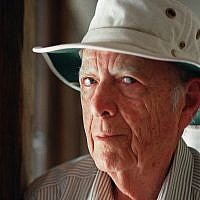 This May 15, 2000, file photo, shows Pulitzer Prize-winning author Herman Wouk in Palm Springs, Calif. Wouk died in his sleep early Friday, May 17, 2019, according to his literary agent Amy Rennert. He was 103. (AP Photo/Douglas L. Benc Jr., File)
