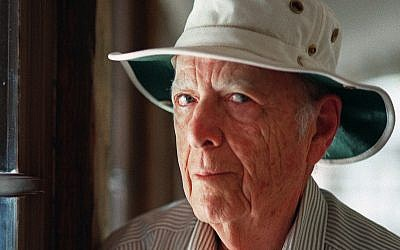 This May 15, 2000, file photo, shows Pulitzer Prize-winning author Herman Wouk in Palm Springs, California. (AP Photo/Douglas L. Benc Jr., File)