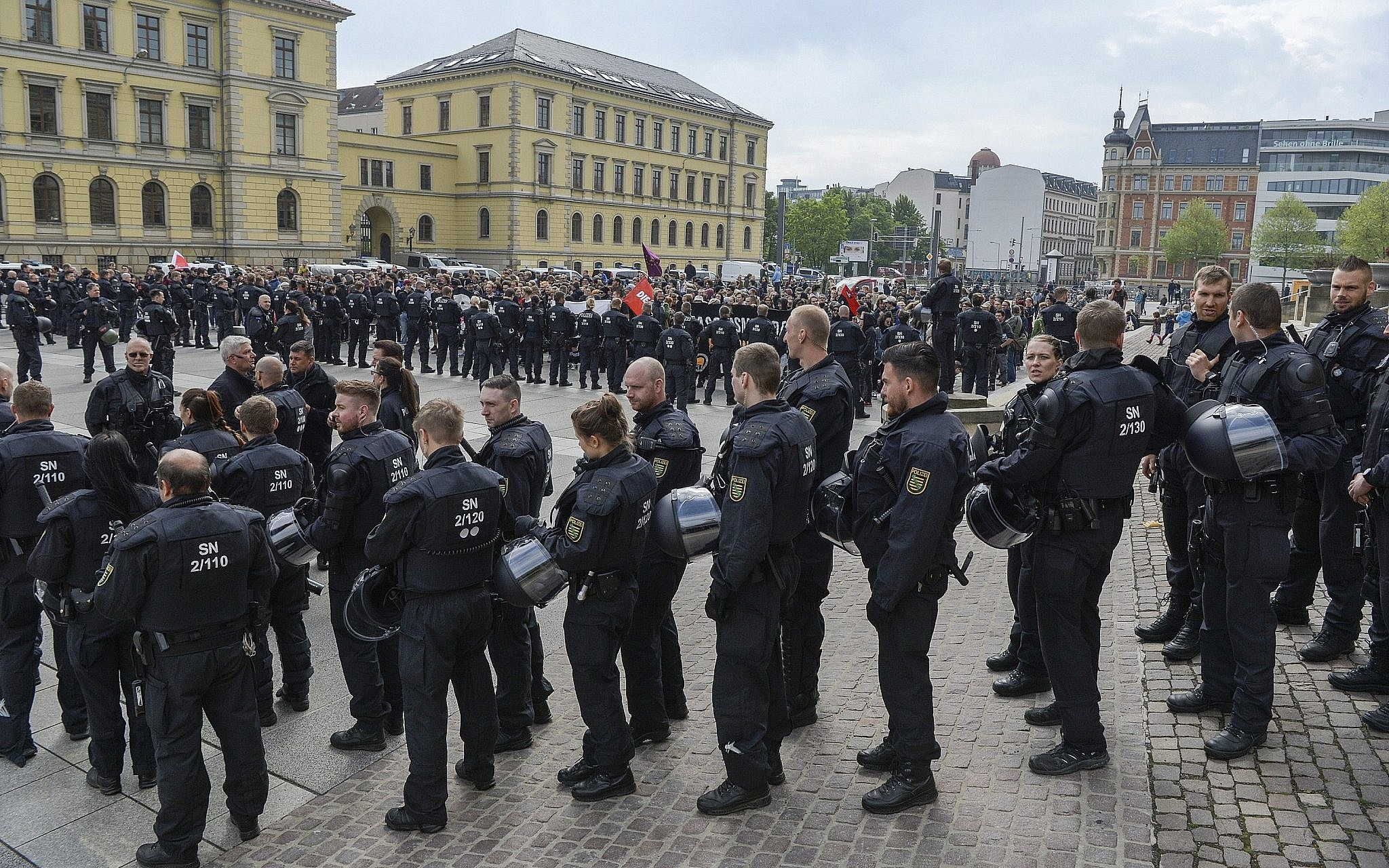 Far-Right Police Officers Suspended in Germany After Sharing Hitler Pictures