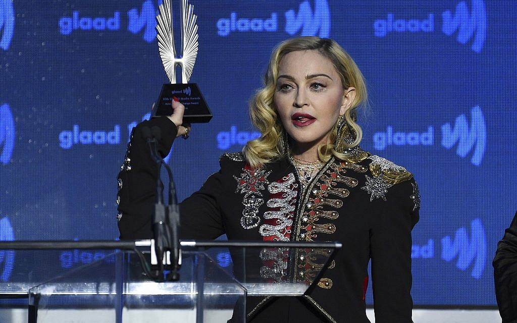 Madonna, ahead of Eurovision performance, says BDS won't stop her music