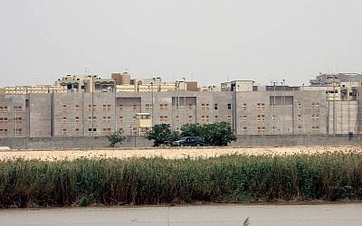 Illustrative photo of the US embassy under construction as seen from across the Tigris river in Baghdad, Iraq, May 19, 2007. (AP Photo)