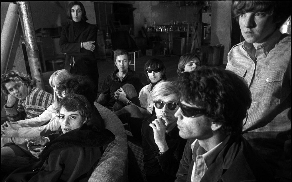 Barbara Rubin with the Velvet Underground, by Nat Finkelstein. (Estate of Nat Finkelstein)