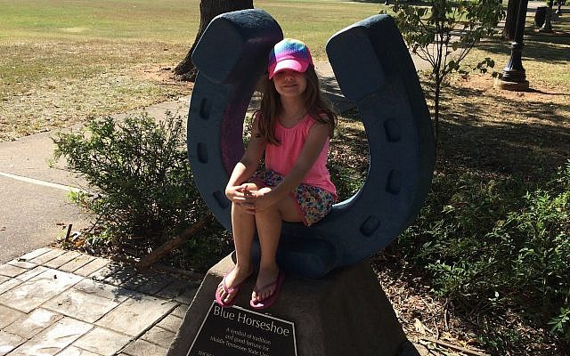 Keith Jacks Gamble said his daughter was chastised for saying it was wrong for her fellow students to reenact the Sieg Heil salute. (Keith Jacks Gamble/Twitter)