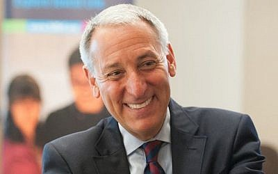 Eric Fingerhut is set to become the new CEO of the Jewish Federations of North America. (Hillel)