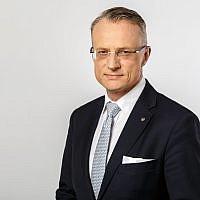 Poland's ambassador to Israel, Marek Magierowski. (Poland Embassy photo)