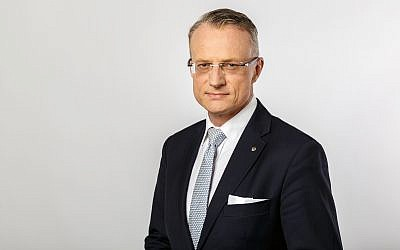 Poland's ambassador to Israel, Marek Magierowski. (Poland Embassy photo)