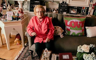 'Ask Dr. Ruth' chronicles the life of Dr. Ruth Westheimer, a Holocaust survivor who became America's most famous sex therapist. (Austin Hargrave/via JTA)
