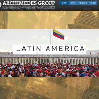 Archimedes Group website homepage