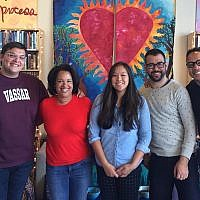 Participants in a think tank event hosted by the Jews of Color Field Building Initiative in Berkeley, California. (Courtesy/Jews of Color Field Building Initiative)