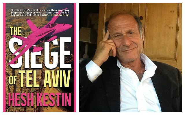 "Hesh Kestin says his book ""The Siege of Tel Aviv"" is not Islamophobic. Its former publisher disagrees. (Photo of Kestin: Courtesy of Kestin; book cover: Amazon)"