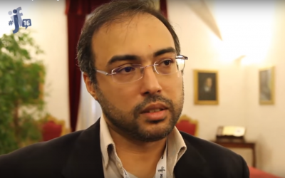 Iyad el-Baghdadi in 2016. (Screenshot: YouTube)