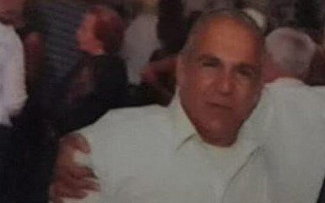 Moshe Agadi, 58, who was killed when a rocket fired from the Gaza Strip scored a direct hit on his home in Ashkelon in southern Israel early on May 5, 2019 (courtesy)