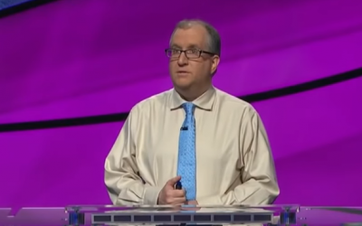 Adam Levin on Jeopardy (YouTube screenshot)