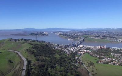 A view of San Francisco's East Bay area (YouTube screenshot )