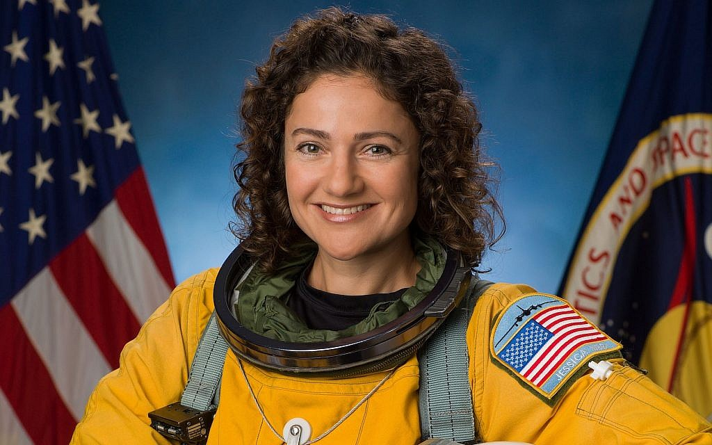 Jessica Meir is seen in her official NASA portrait. (NASA/Robert Markowitz)